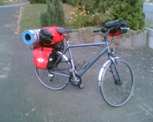Fahrradausrüstung für Norwegen