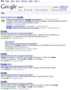 Google - Diese Website kann Ihren Computer beschädigen